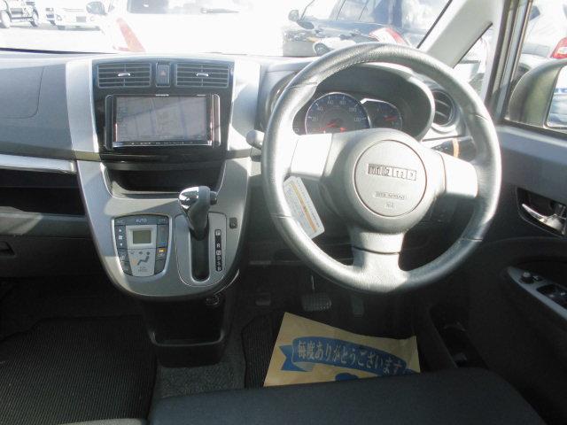 ダイハツ ムーヴ カスタム RS ABS バックカメラ付メモリーナビ 装備車
