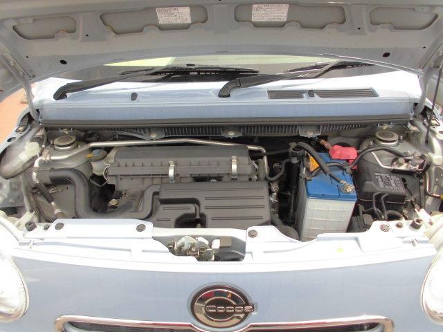 アイドリングストップ対応水冷4ストローク直列3気筒DOHC12バルブ658ccガソリンエンジン 装備