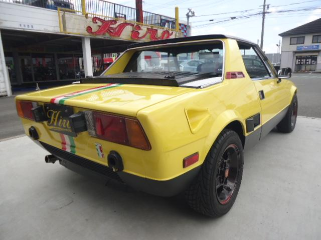 「フィアット」「フィアット X1/9」「クーペ」「福岡県」の中古車7