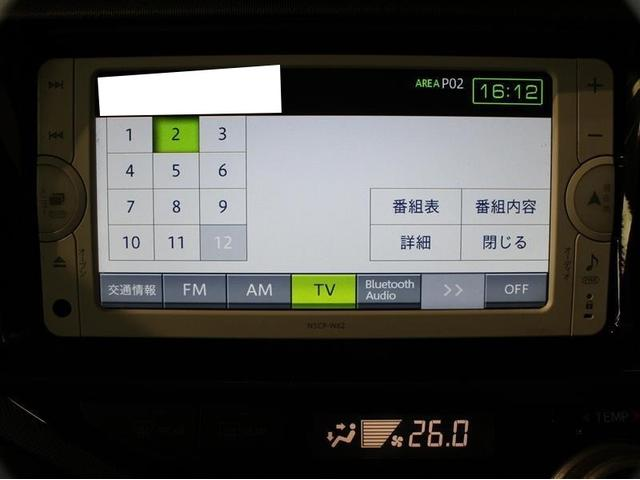 トヨタ アクア S 1年保証 1オーナー SDナビ地デジTV スマートキー