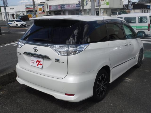 「トヨタ」「エスティマハイブリッド」「ミニバン・ワンボックス」「福岡県」の中古車7