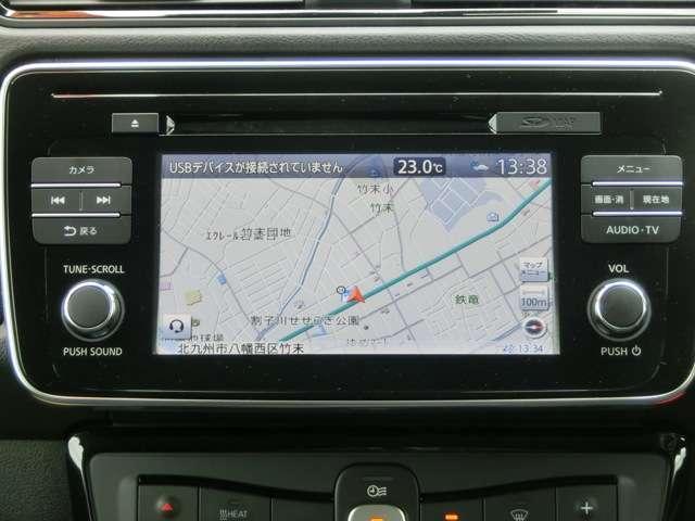 アラウンドビューモニターです☆車の前後左右にカメラがついており駐車時には上から車を見たような画面が見れますので、4方向の状況を確認することができる便利な機能です☆