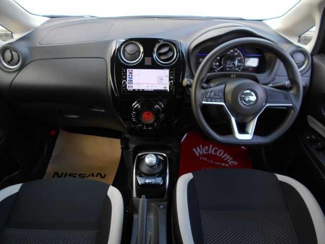 当社にて展示☆試乗車にて使用していたお車ですので、室内も綺麗な状態です。