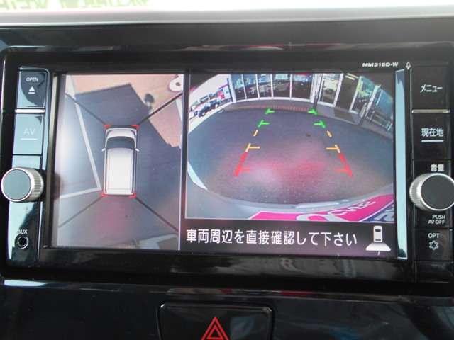 アラウンドビューモニター☆全方向見えるので駐車が苦手な方も安心です。