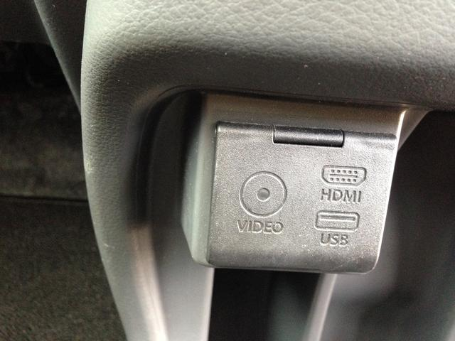 HDMI、USB、VIDEO端子