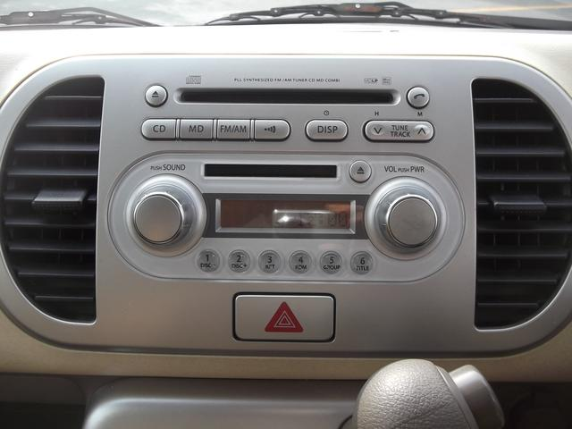 日産 モコ E スマートキー 盗難防止システム ベンチシート CD MD