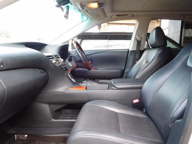 レクサス RX RX450h バージョンL HDDナビ地デジ 黒革 パノラマ