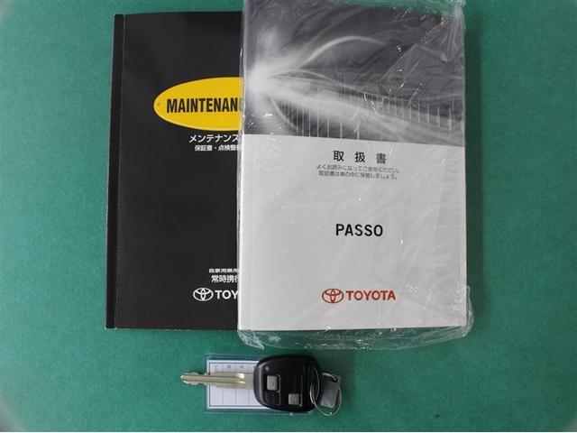 トヨタ パッソ プラスハナ 1年保証 CD再生 ベンチシート キーレス