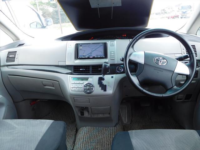 トヨタ エスティマ アエラス HDDナビ 両側パワースライド