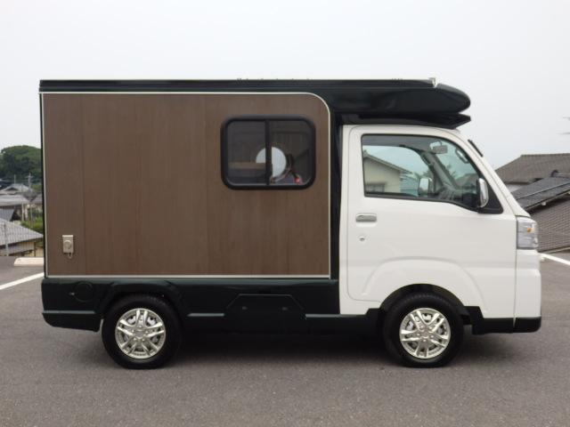 ダイハツ ハイゼットトラック CampMasterハイゼットスタンダード4WDベース