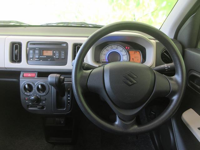 L スズキセーフティサポート/EBD付ABS/横滑り防止装置/アイドリングストップ/エアバッグ 運転席/エアバッグ 助手席/パワーウインドウ/キーレスエントリー/シートヒーター 前席/パワーステアリング(5枚目)