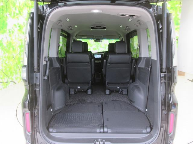 スパーダハイブリッドG・EXホンダセンシング 純正 9インチ メモリーナビ/フリップダウンモニター/両側電動スライドドア/シート ハーフレザー/車線逸脱防止支援システム/ヘッドランプ LED/ETC/EBD付ABS/横滑り防止装置 全周囲カメラ(18枚目)