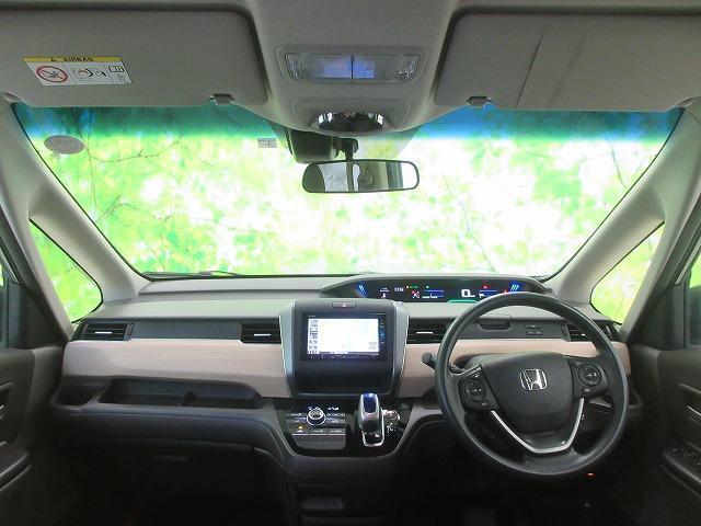 ハイブリッドGホンダセンシング 純正 7インチ メモリーナビ/両側電動スライドドア/車線逸脱防止支援システム/ヘッドランプ LED/ETC/EBD付ABS/横滑り防止装置/アイドリングストップ/クルーズコントロール/TV(4枚目)