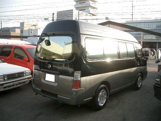 日産 キャラバンマイクロバス SロングGX キャンピング 9人 FFヒーター 2段ベッド