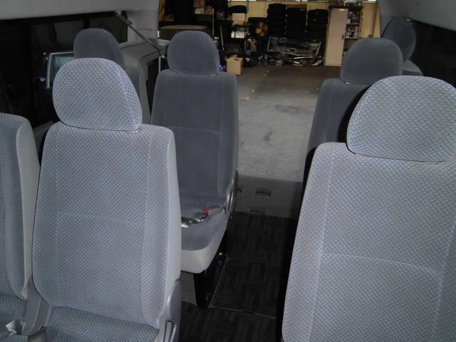 スーパーロングGLターボ パワースライドドア オートステップ 4型グランドキャビン仕様 ディ-ゼル 15人乗り(8枚目)