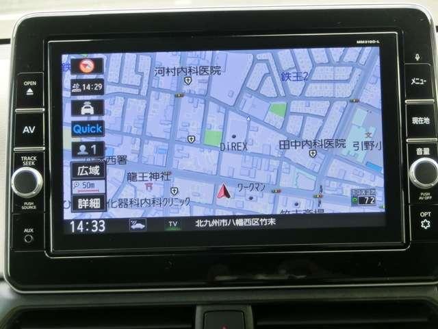 フルセグTV☆DVD再生☆録音機能搭載☆9インチ純正メモリーナビで知らない町もスムーズに行くことが出来ます。