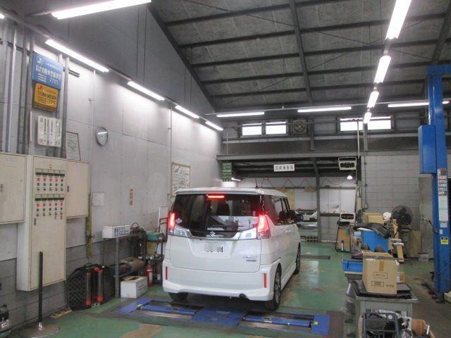 指定自動車整備工場なので車検整備も万全です!