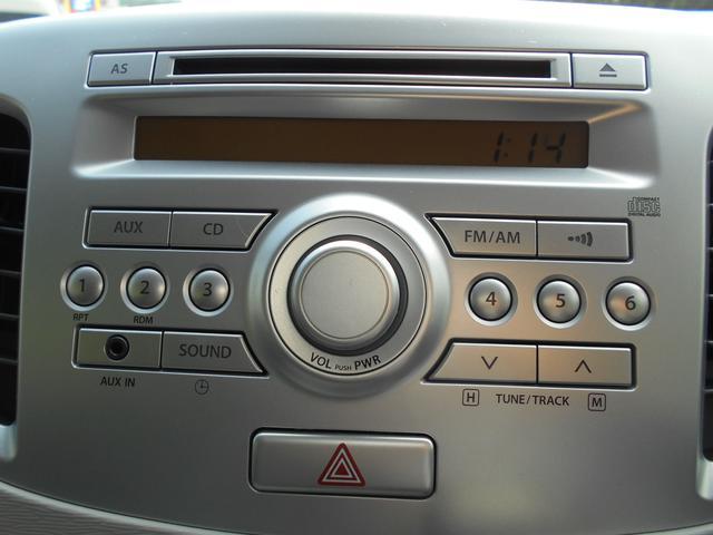 スズキ ワゴンR FX CDプレーヤー装着車