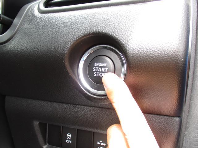 エンジンスタートはボタン1つで簡単♪プッシュスタートシステムです☆