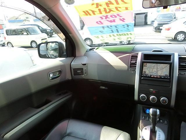 日産 エクストレイル 2年保証! 4WD HDDナビ TV インテリキー