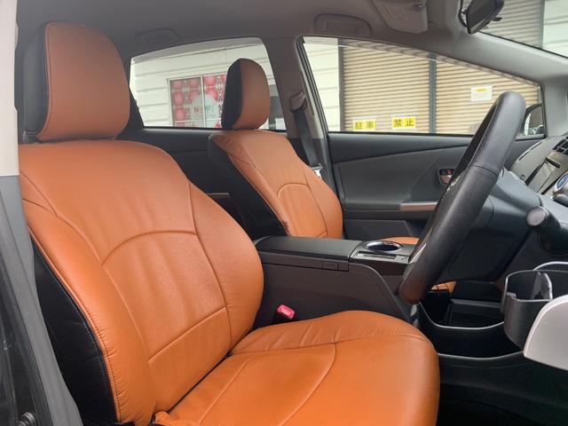 トヨタ プリウスアルファ S Lセレクション 純正ナビ付 Bluetooth フルセグ
