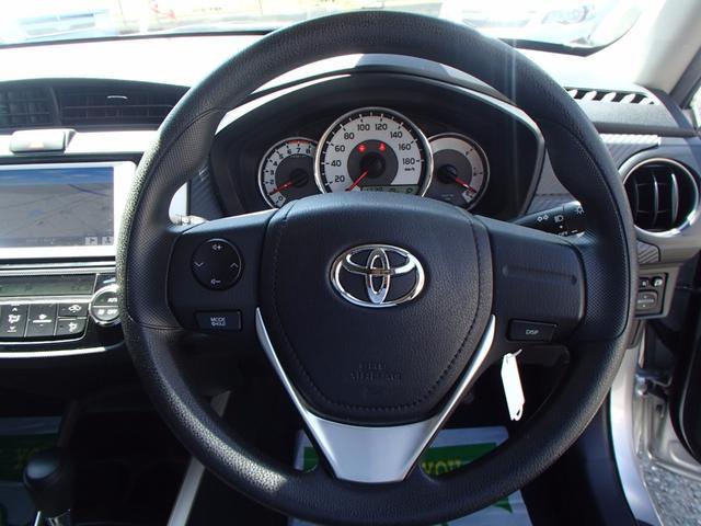 トヨタ カローラフィールダー 1.5G 純正メモリーナビ バックモニター