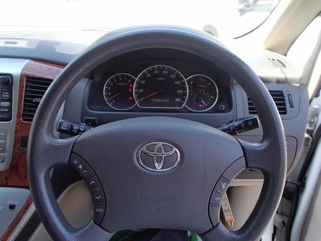 トヨタ アルファードG MX Lエディション 左側パワースライドドア