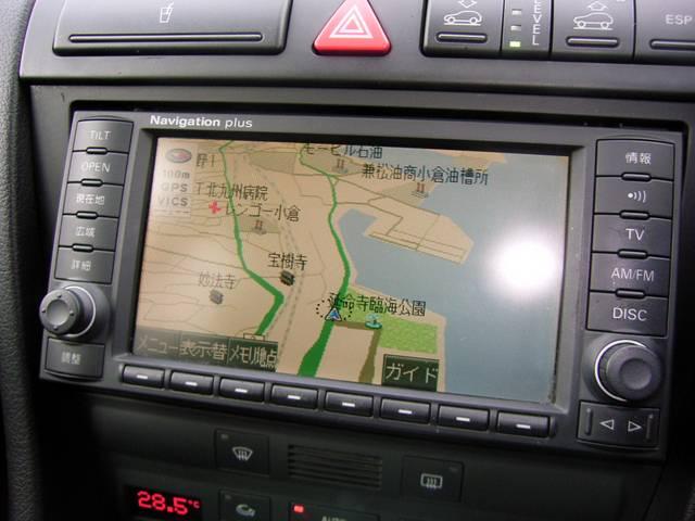 アウディ アウディ オールロードクワトロ 2.7T エアサス 純正DVDナビ ワンオーナー車
