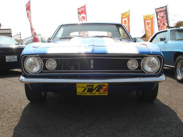 1967ファーストモデル三角窓V8換装公認5.7L AC付(2枚目)