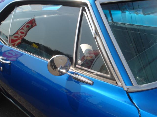 1967ファーストモデル三角窓V8換装公認5.7L AC付(6枚目)
