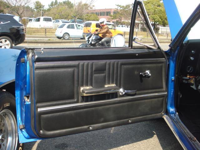 1967ファーストモデル三角窓V8換装公認5.7L AC付(17枚目)