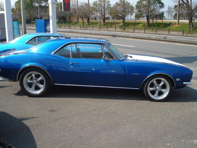 1967ファーストモデル三角窓V8換装公認5.7L AC付(19枚目)