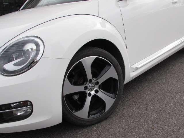 フォルクスワーゲン VW ザ・ビートル デザインレザーパッケージ ワンオーナー 社外ナビTV