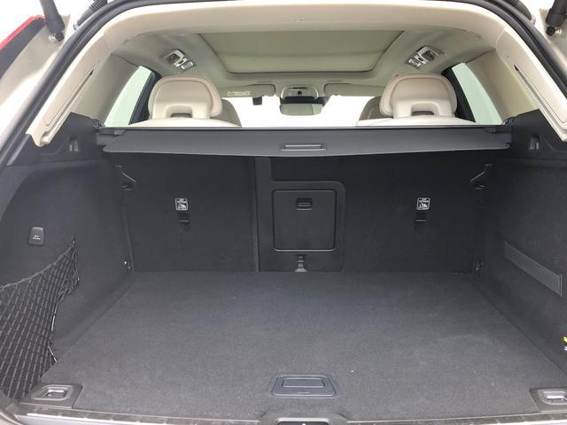 XC60のラゲッジスペースは、リアシートのシートパックの高さまで505Lと大容量!