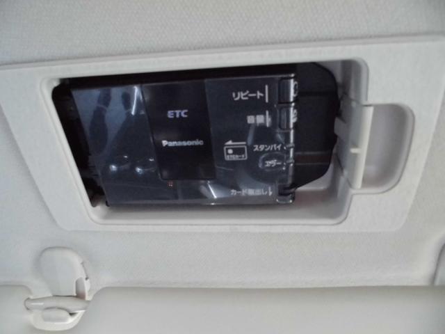 サンバイザーの中にETC車載器があります!