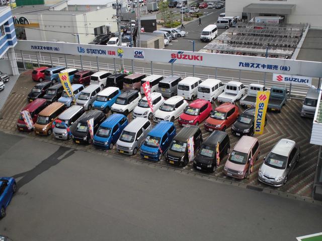 当店の中古車展示場の画像です!40台以上の豊富な在庫を取り揃えて、皆様のご来店をお待ちしております。