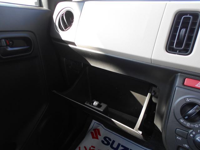 助手席にはグローブBOXが付いております。車検証等の収納にお使いください