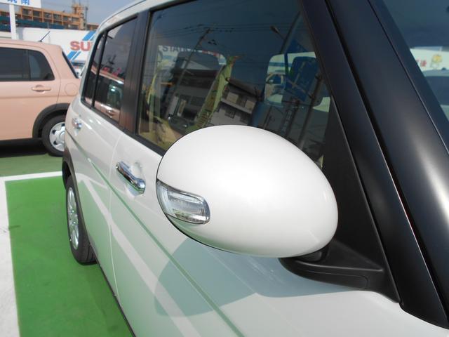 歩行者の方の視認性も良いウインカーミラー付きで、安全ドライブできますよ