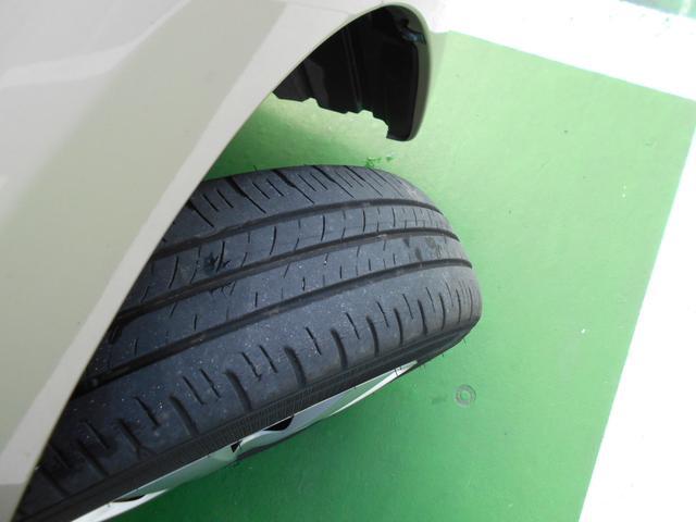 タイヤの溝はボチボチです