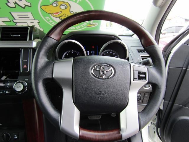 トヨタ ランドクルーザープラド TX L-PG SR 黒革 ディーゼルTB 7人乗