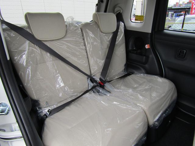ダイハツ ムーヴキャンバス Xリミテッドメイクアップ SAII 未使用車 両側自動ドア