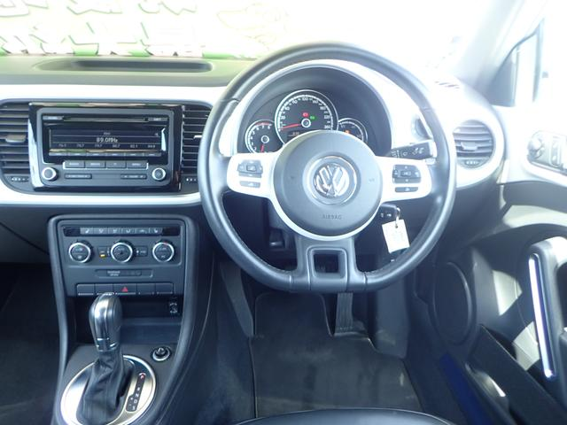 フォルクスワーゲン VW ザ・ビートル デザインレザーパッケージ ICターボ シートヒーター
