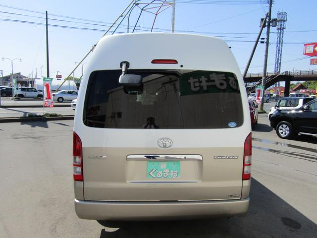 トヨタ ハイエースワゴン グランドキャビン 左側自動ドア HRスーパーロング 10人乗