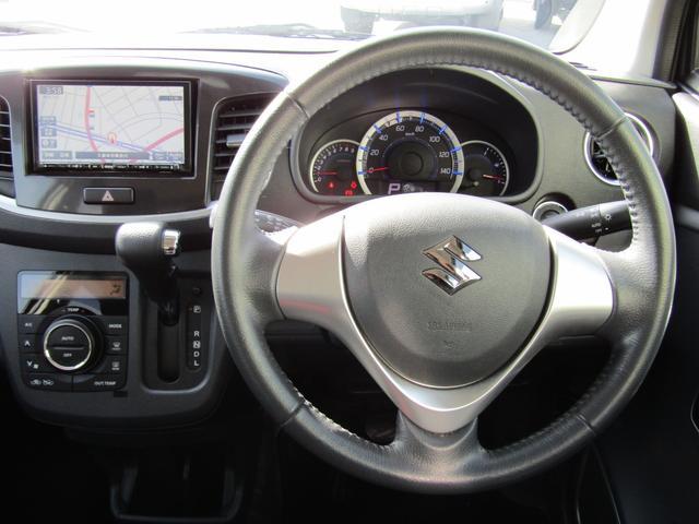 スズキ ワゴンRスティングレー X CVT アイドリングS フルセグSDナビ 14AW