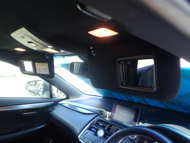 NX200t Fスポーツ フルセグSDマルチ S&Bカメラ  黒革エアシート 三眼フルLED Pバックドア プリクラッシュ レーダークルーズ 4気筒ICターボ 6AT(24枚目)