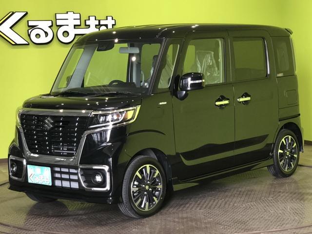 「スズキ」「スペーシアカスタム」「コンパクトカー」「福岡県」の中古車3