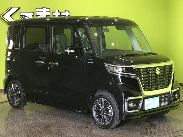 「スズキ」「スペーシアカスタム」「コンパクトカー」「福岡県」の中古車4
