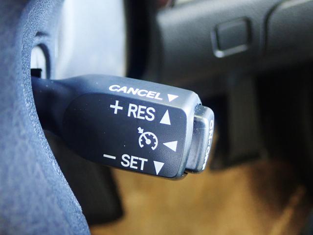 【クルコン】★アクセルペダルを踏み続けることなくセットした速度を 維持する機能であり、運転者の疲労低減並びに同乗者の快適性向上に寄与する★
