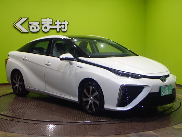 「トヨタ」「MIRAI」「セダン」「福岡県」の中古車4