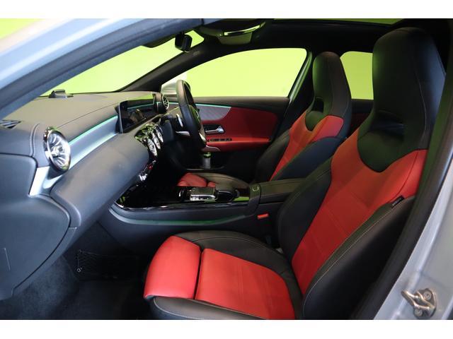 A180スタイルAMGラインナビPGレザーEXCパノラマSR ワンオーナー車・ナビパッケージ&レザーエクスクルーシブPG・パノラマSR・AMG18インチAW・純正ナビ・360度カメラ・ドラレコ・7AT(35枚目)